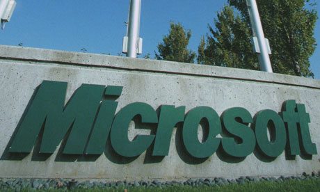 Okradený Microsoft