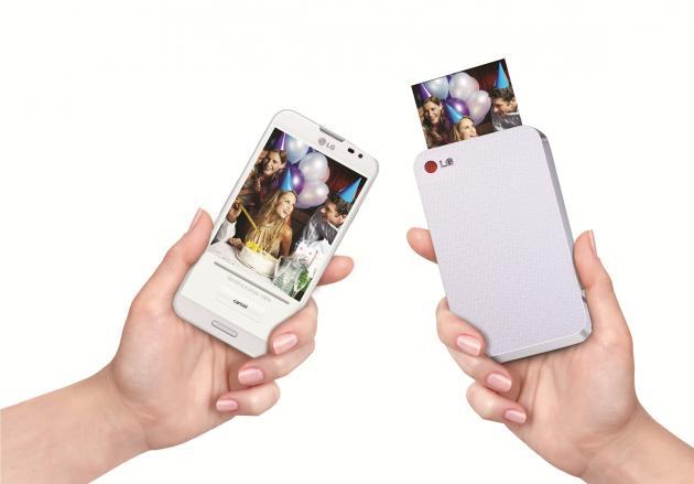 LG PD233 Pocket Photo: mobilní bezdrátový tisk