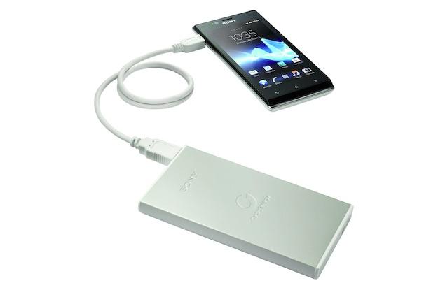 Sony CP-F2L: Energie sbalená na cesty