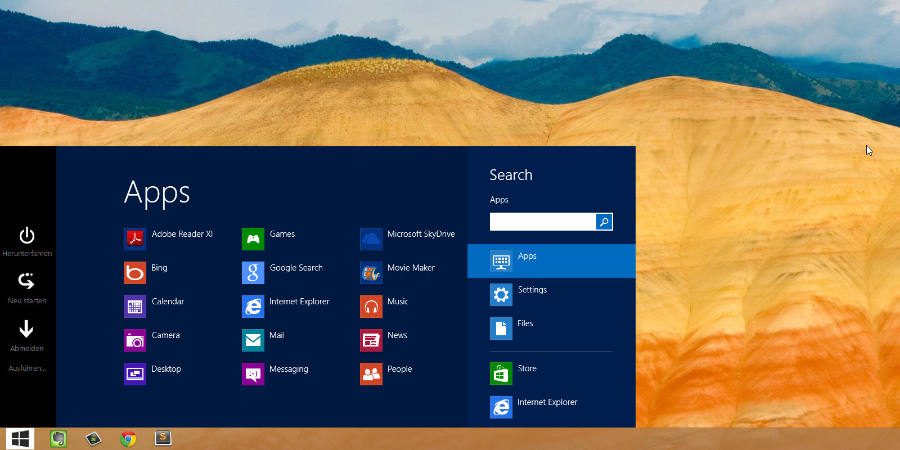 Do Windows 8 se vrací tlačítko START