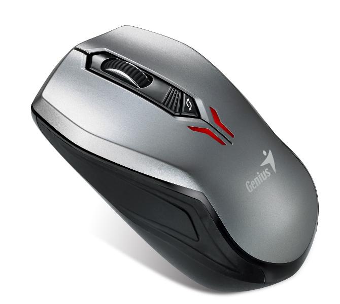 Myš pro ovládání dvou zařízení