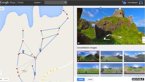 Vytvořte si své vlastní Street View