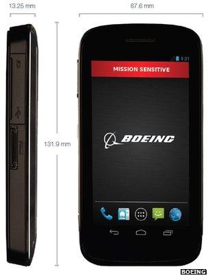 Boeing Black: samodestrukční smartphone pro tajné služby
