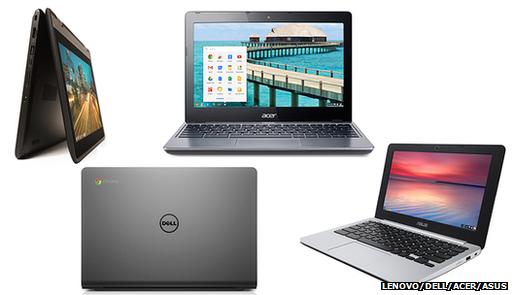 Nové Chromebooky srychlejšími procesory