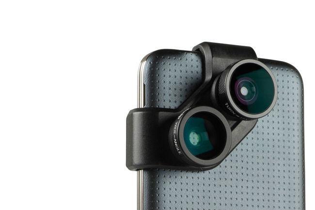 Objektiv Olloclip pro Samsung Galaxy S4 a S5