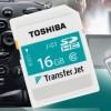 Bezdrátová karta s novou technologií TransferJet