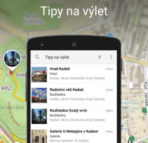 Mapy.cz spustily turistickou navigaci pro celou Evropu