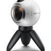 Kamera Samsung Gear 360 natáčí panoramatická videa 360°