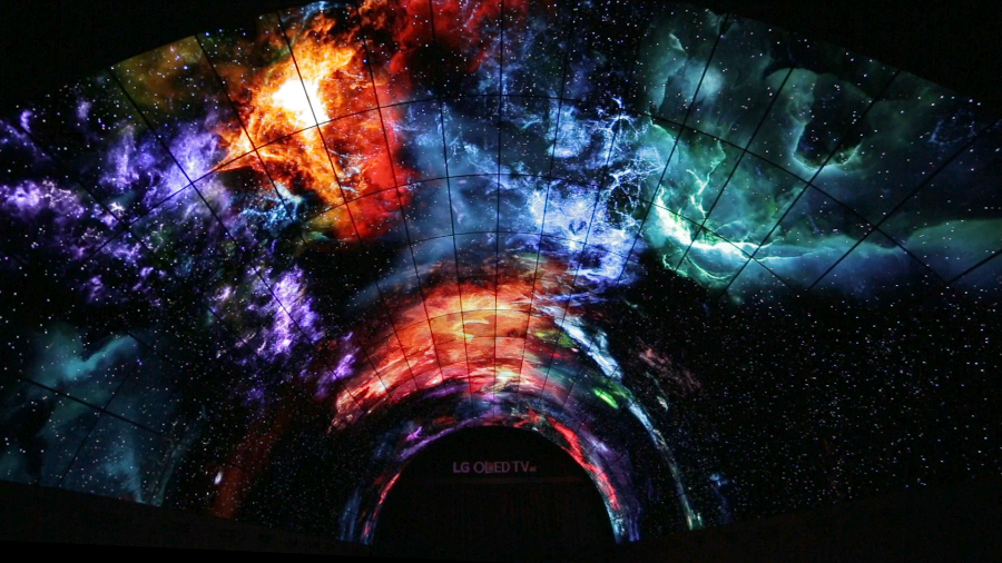 the LG OLED tunnel_13