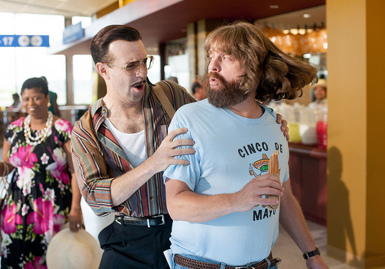 """M326 Jason Sudekis and Zach Galifianakis star in Relativity Media's upcoming release, """"Masterminds"""". Credit: Glen Wilson Copyright: © 2014 Armored Car Productions, LLC"""