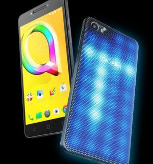 Alcatel A5 LED – první smartphone s interaktivním LED krytem