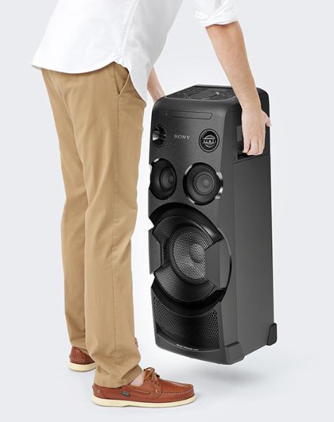 Vysoce výkonný audiosystém Sony