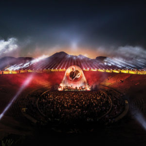 David Gilmour v Pompejích – koncert přichází do kin