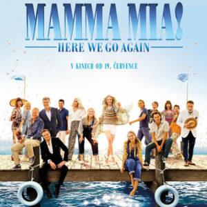 Mamma Mia! Here We Go Again pokračuje po deseti letech v krasojízdě
