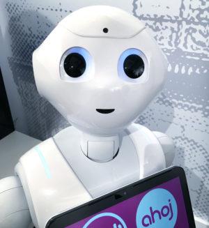 Robot Pepper T-Dee má v Česku dalšího sourozence
